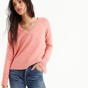 J Crew NWT Supersoft Sweater in Brilliant Poppy